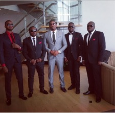 Don Jazzy and gang