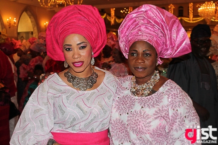 Wasiu Ayinde and Titi Masha's naming celebration
