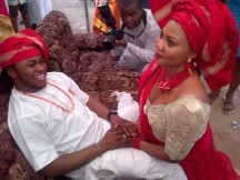 Yemi-Sax-and-Shola-Durojaiye's-Marriage-Introduction010114-600x450
