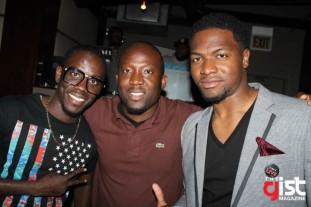 Jeje, DJ Dee Money and Jide
