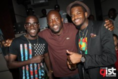 Jeje, DJ Dee Money and King Temo