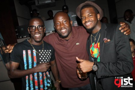 Jeje, DJ Dee Money and King Temo