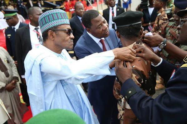 Pres. Buhari Receives Republic of Benin's Highest Honour – 'Grand Croix Du Benin'