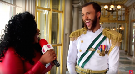 Behind the Scenes with Jidenna
