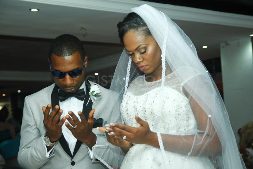 [Gist Covers] Monisola and Akinwale Akintayo wedding ceremony#GistmiNigeria