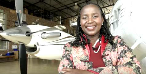 #WCW – @SibongileSambo; The Rejected Flight Attendant now Founder of SRS Aviation.