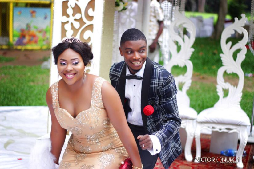 Wedding Alert; Two hearts become one as Mary-Ann weds Charles.