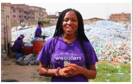 @Bilikiss Adebiyi Abiola: Turning Trashes into Gold
