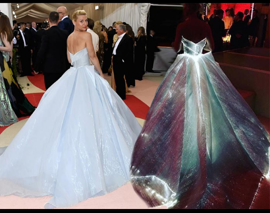 Claire Dunes Lights Up Met Gala With Zac Posen S Dress